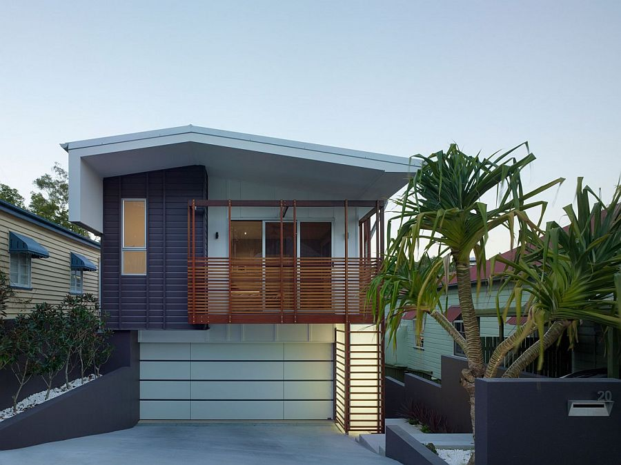 Contemporary inner-city suburban home in Paddington, Queensland