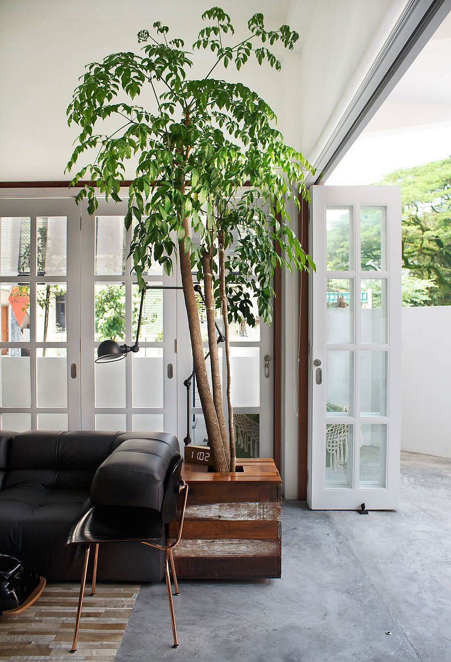 Old terrace house turned into a modern family residence for Terrace house singapore