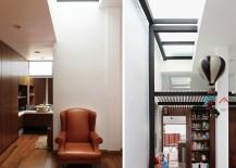 Custom decor and colorful accessories fashion a cheerful, classy interior