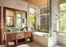 Custom-vanity-in-the-bathroom-clad-from-walnut-adds-warmth-to-the-setting-217x155