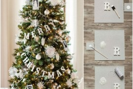 DIY Merry Christmas banner for a Christmas tree Holiday Banner Ideas to Showcase Your Cheerful Message Holiday Banner Ideas to Showcase Your Cheerful Message DIY Merry Christmas banner for a Christmas tree