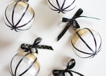 ornamental elegance - Black And Gold Christmas Decorations