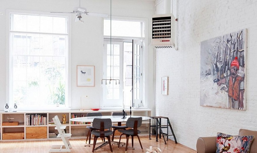 Franklin St. House: Classic Tribeca Loft Infused with Contemporary NYC Flair
