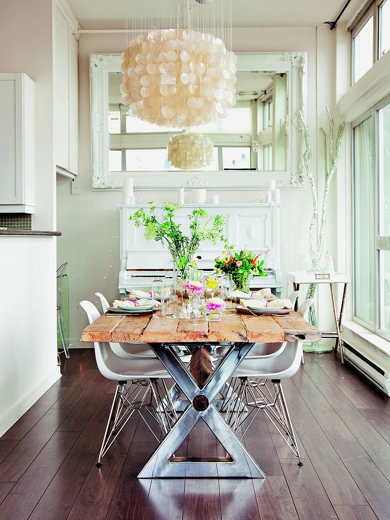 Eames chair is another classic that fits in with almost any style in the dining room [Design: Callwey]