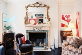 10 Rooms Showcasing the Beauty of a Marble Fireplace