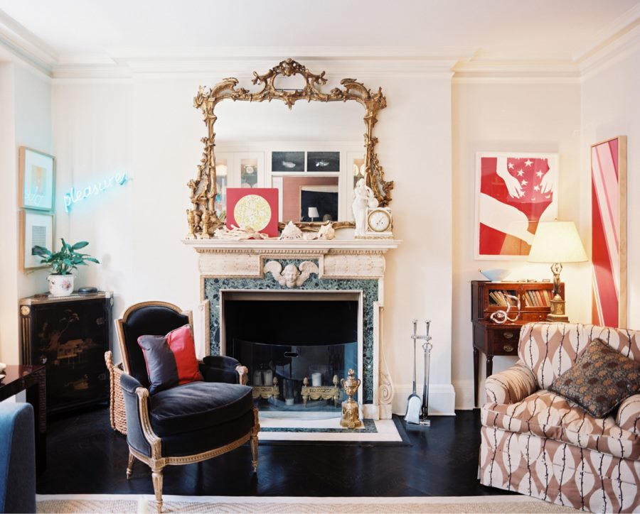 10 Beautiful Rooms With Marble Fireplaces