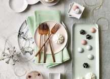 Enchanting holiday sweets in a photo by CB2 217x155 Top Color Trends for the Winter Holidays