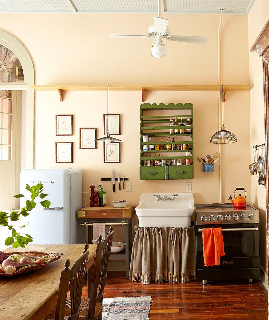 50 fabulous shabby chic kitchens that bowl you over for New orleans style kitchen