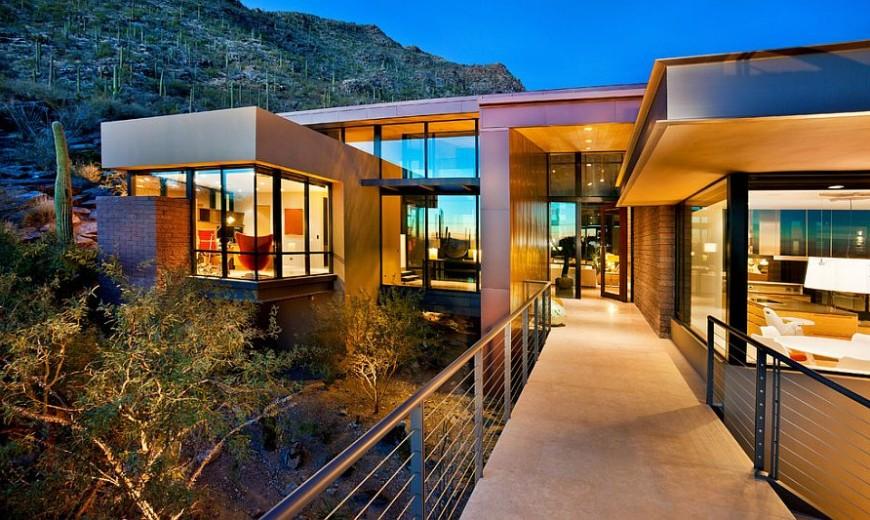 Solar Panels and Eco-Sensitive Design Create Smart Home in Sonoran Desert