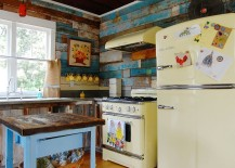 Farmhouse-and-shabby-chic-styles-meet-in-this-kitchen-with-reclaimed-wood-walls-217x155