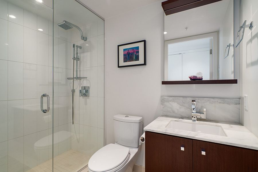 Hot property luxury condo in vancouver for the hip urban for Urban bathroom ideas