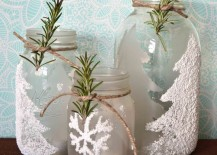 Frosted-winter-themed-mason-jar-candle-holders-with-epsom-salts-217x155