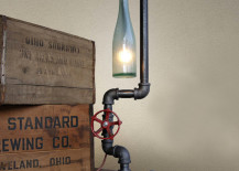 Fuse table lamp from Fab