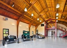 Garage-showcases-the-personal-car-collection-of-the-homeowner-217x155