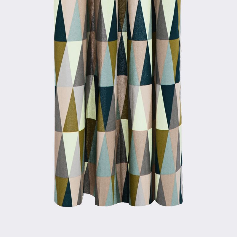 Geo shower curtain from ferm LIVING