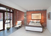 When Decorating A Bedroom With Brick Walls, Do Not Focus On The Walls  Themselves, But Take A Decorating Approach Like You Would Do With Any Other  Space.