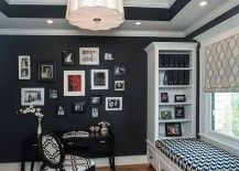 Gorgeous-black-and-white-home-office-with-window-seat-and-a-craft-closet-217x155