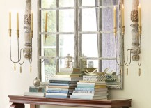 Gorgeous-entryway-with-a-Grand-Chateau-Window-Mirror-and-large-scones-217x155