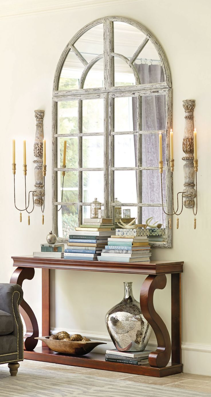 Foyer Mirror Cabinet : Entryways with captivating mirrors