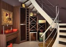 Gorgeous-under-staircase-wine-storage-idea-217x155