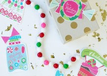 Gumball garland from Studio DIY