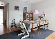 IKEA finds can also help shape that gorgeous shabby chic dining room! [From: Fotograf Lisbet Spörndly]