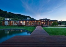 Idyllic Eckford Residence in Santa Barbara by NMA Architects