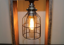 Industrial lamp with oak base from HomeProsPlus 217x155 15 Edgy and Industrial Table Lamps