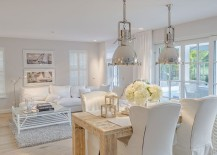 Whenever we talk about shabby chic, we simply cannot move away from white.  It is the staple of the