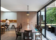 Interior-of-the-renovated-warehouse-home-is-an-eclectic-blend-of-the-contemporary-and-Victorian-styles-217x155