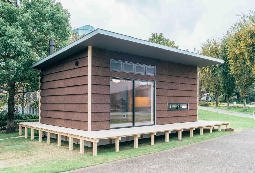 Jasper Morrison prefab cabin for Muji
