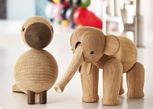 Kay Bojesen Songbird Alfred and Wooden Elephant 217x155 12 Festive Gifts Family and Friends Will Want to Keep