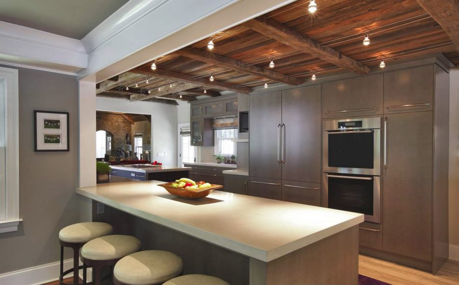 View In Gallery Kitchen Spotlights Add Drama  I