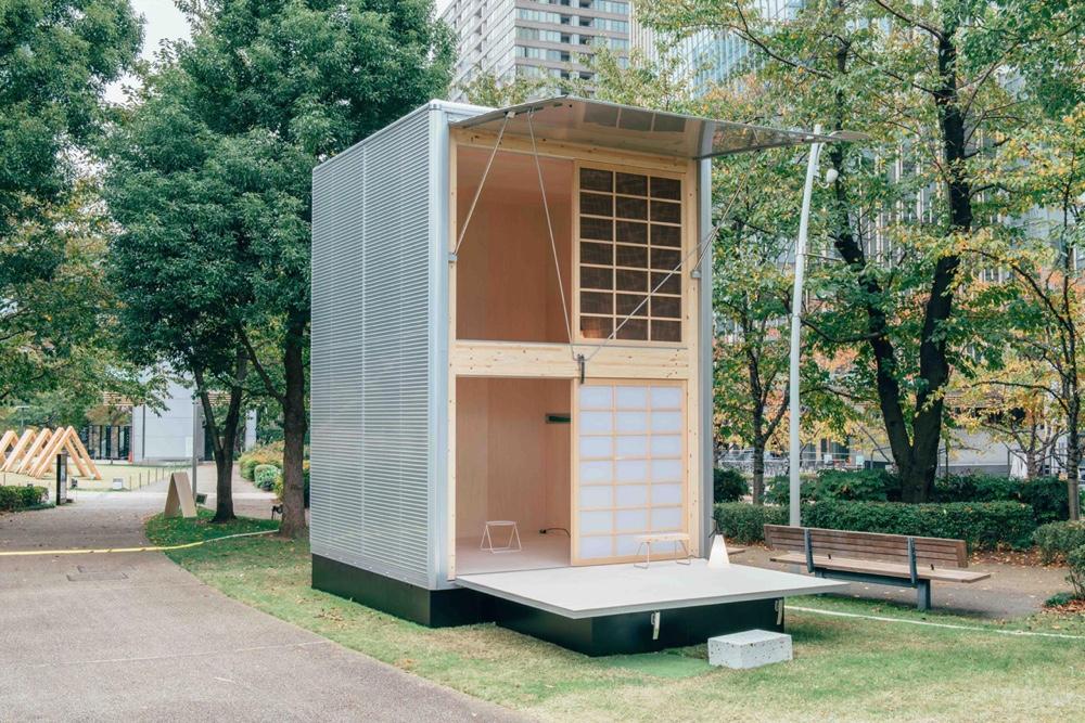 Konstantin Grcic prefab cabin for Muji