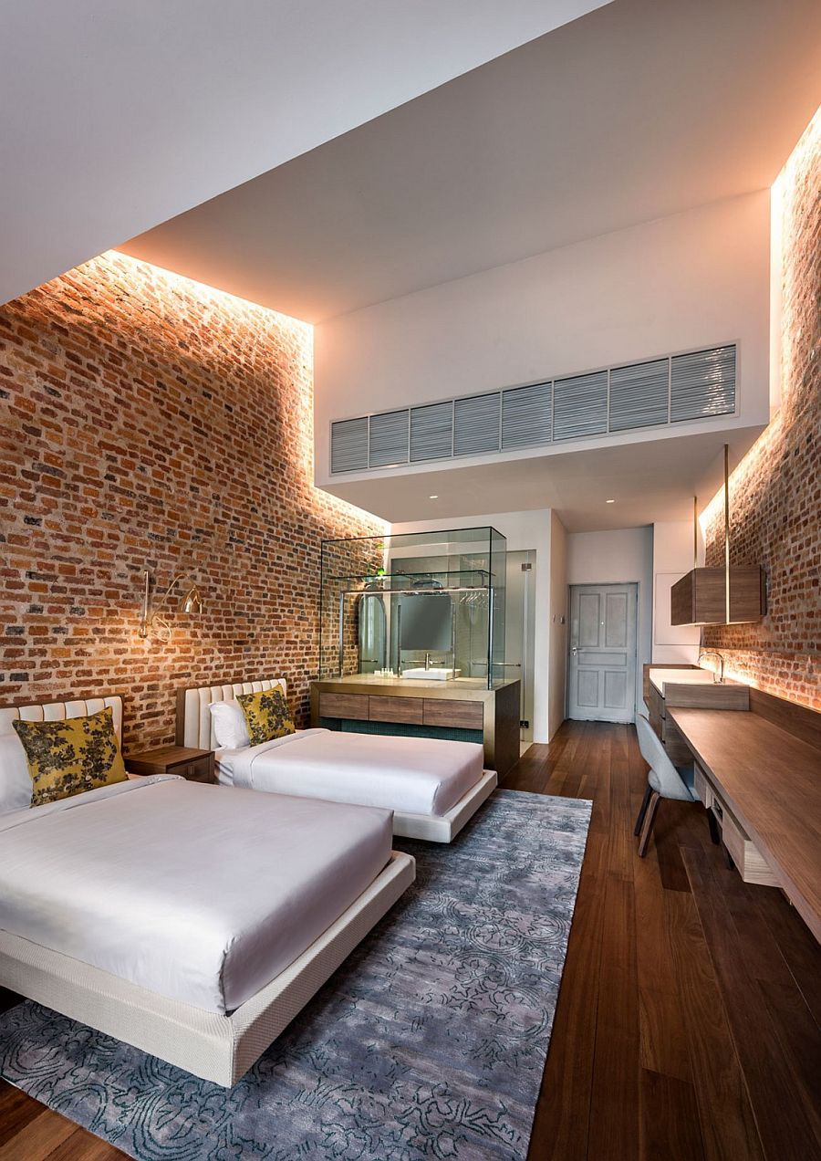Loke thye kee residences recapturing historic penang with for Hotel room decor