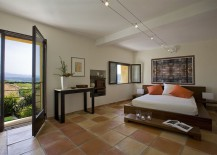 Large-terra-cotta-tile-brings-country-charm-to-the-luxurious-contemporary-bedroom-217x155