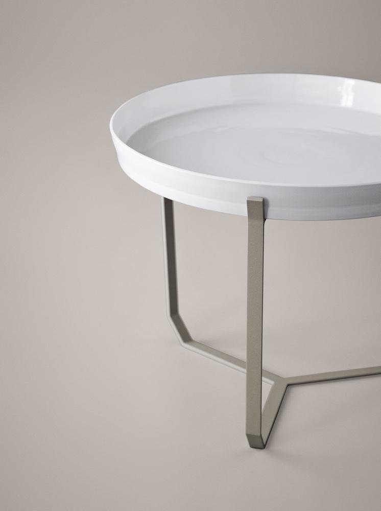 Laura Straßer porcelain table