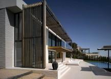 Modern Minimal French Villa Overlooking the Bay of Saint Tropez