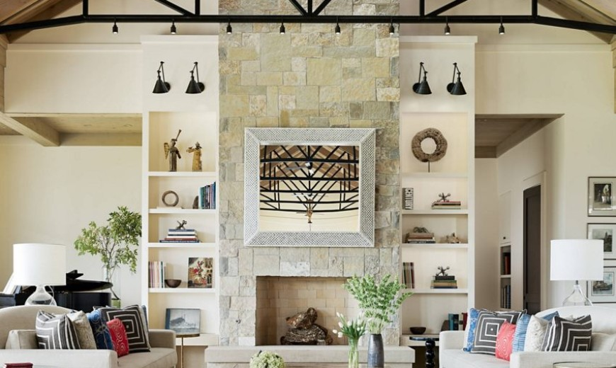 20 Rooms with Ceiling Spotlights