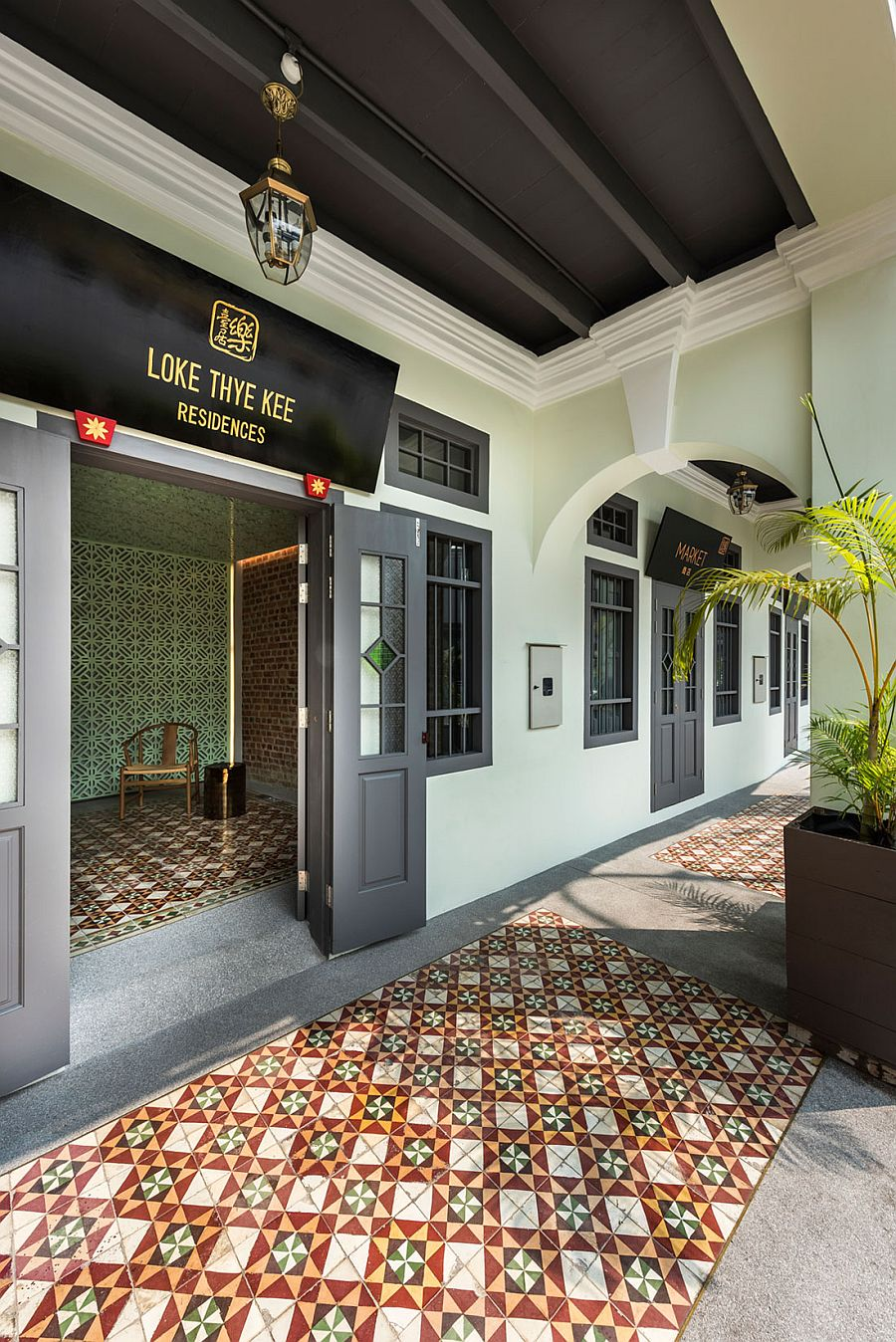 Loke Thye Kee Residences in Malaysia combines heritage with modern amenities