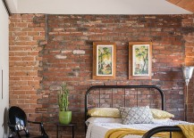 Louis-Ghost-Chair-in-the-corner-adds-gloss-to-the-industrial-bedroom-217x155