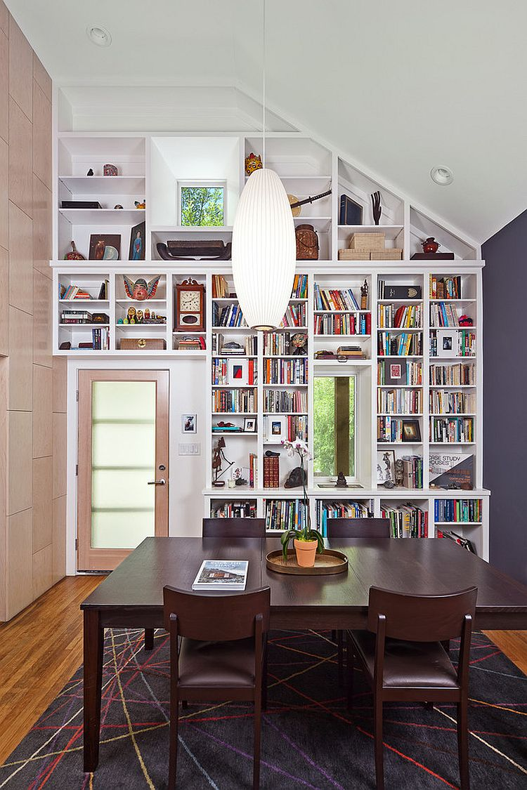 Contemporary Dining Room Design 25 dining rooms and library combinations, ideas, inspirations