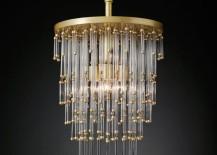 Luciano chandelier from RH Modern