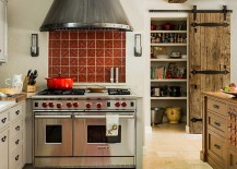 Mediterranean-kitchen-with-reclaimed-barn-door-for-the-pantry-217x155