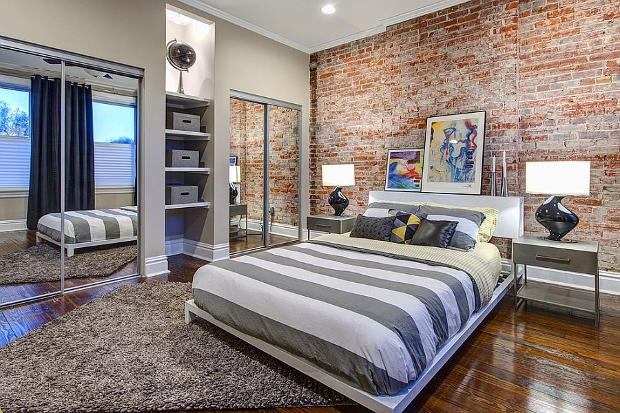 Bedroom And More 50 Delightful And Cozy Bedrooms With Brick Walls