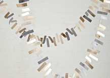 Modern garland from The Land of Nod