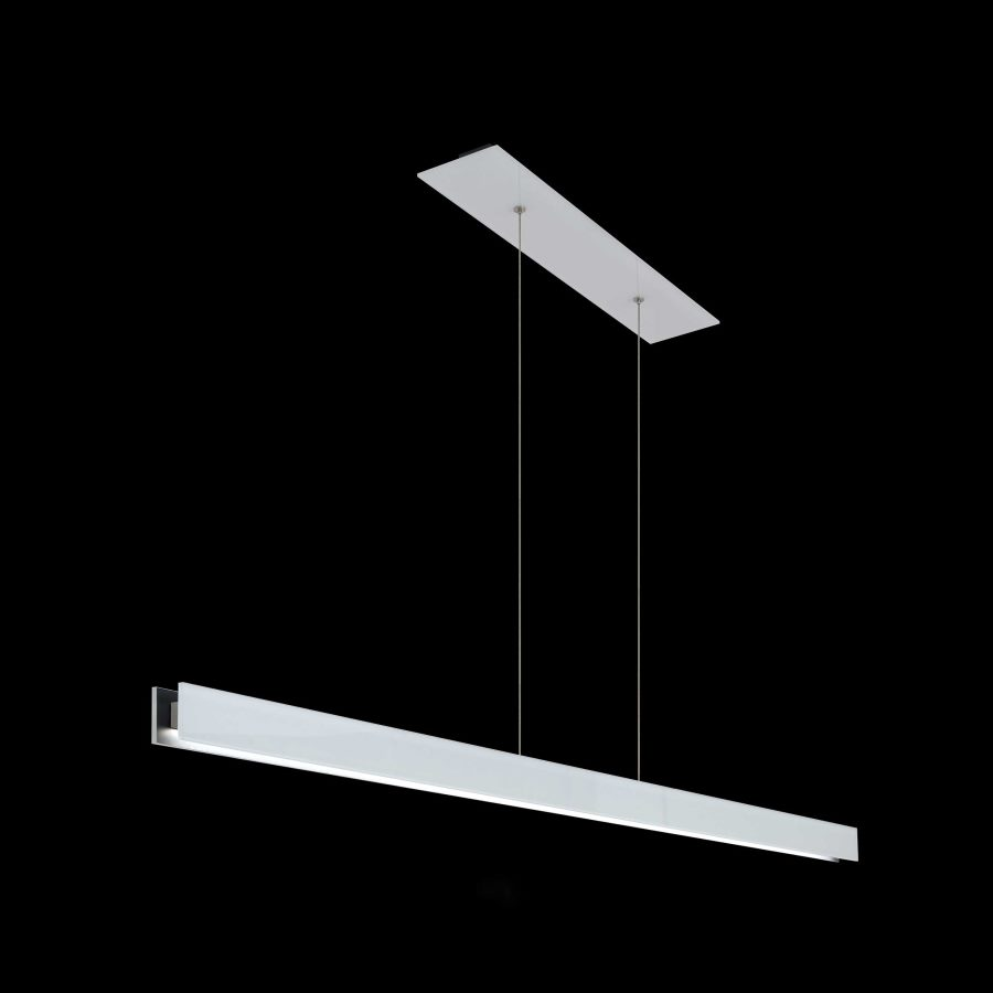 Modern glass linear suspension