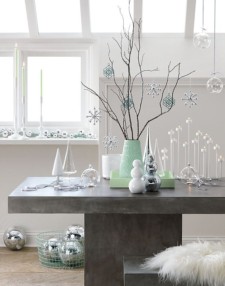 Modern winter wonderland from CB2