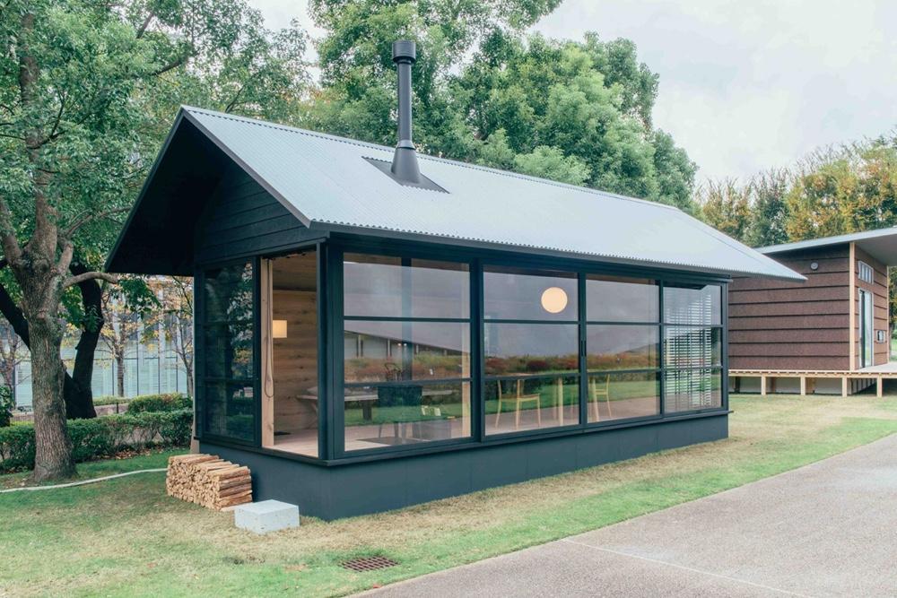 Naoto Fukasawa prefab cabin for Muji
