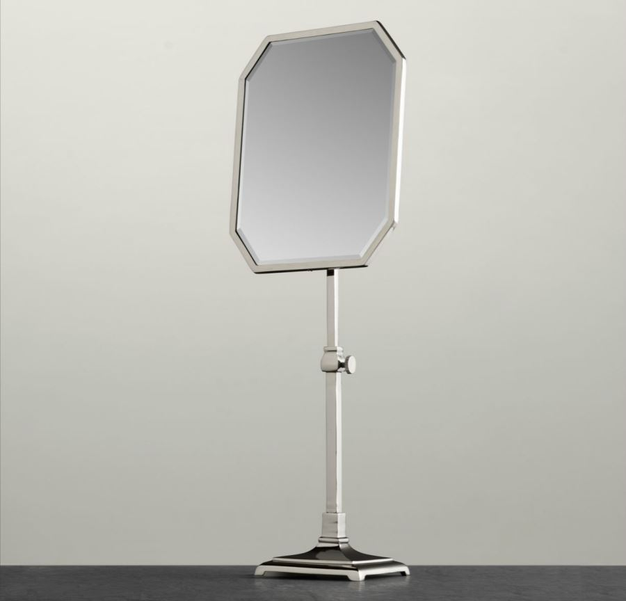 Octagonal shaving mirror from Restoration Hardware